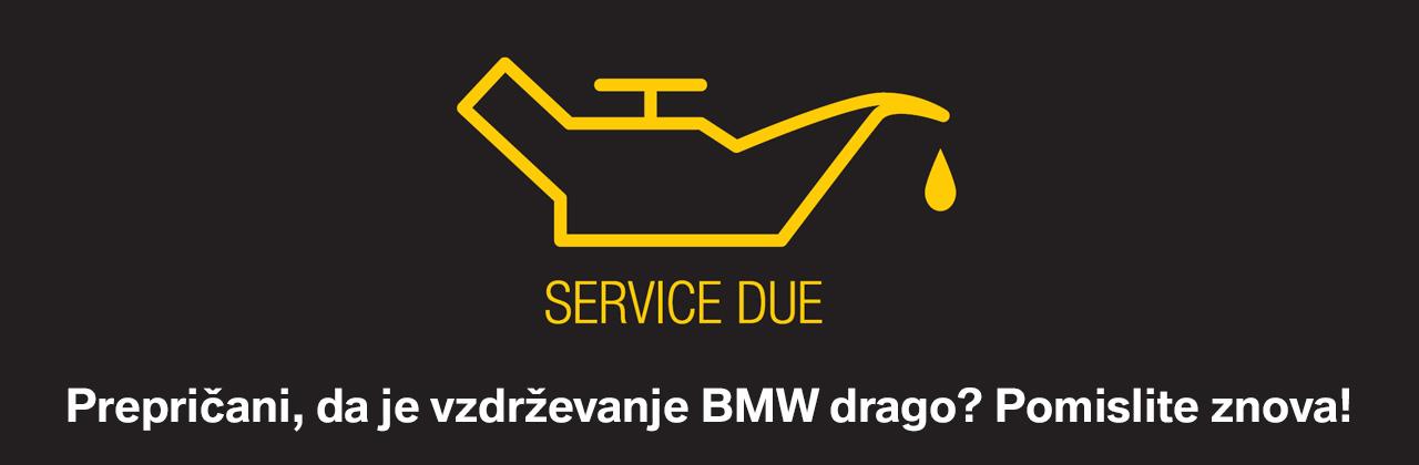 akcijska ponudba bmw vzdrževanje servis